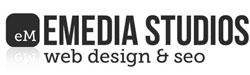 emedia studios web design gold coast logo